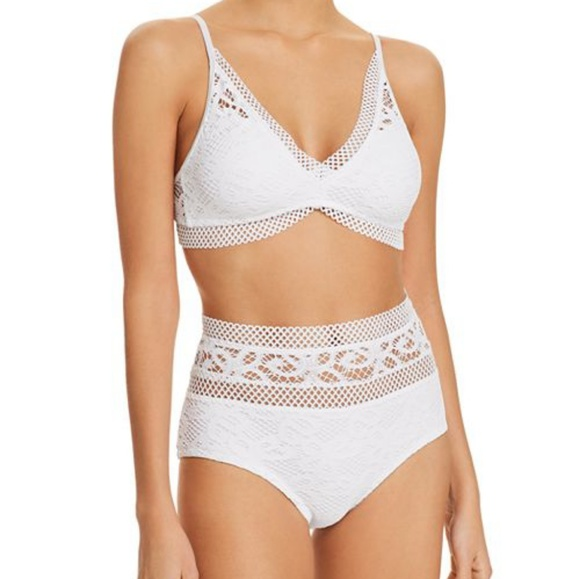 e07461f33af30 BECCA by Rebecca Virtue Swim | New Markdownvintage Look Large Top ...